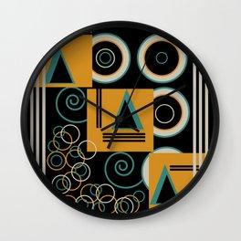 Modern Aztec Wall Clock