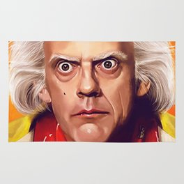 Back to the Future Doc Brown - Great Scott Rug