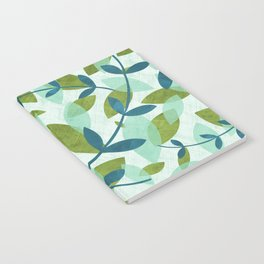Simple Leaves Notebook