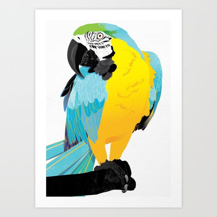 Oscar  Art Print