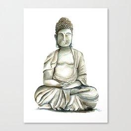 Buddha brings you freedom Canvas Print