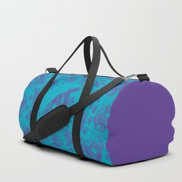 Sloth Illustration Duffle Bag