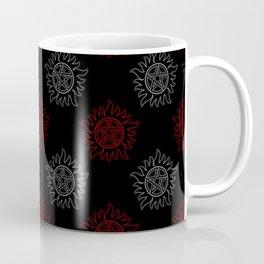Anti Possession Pattern Dual Glow Coffee Mug