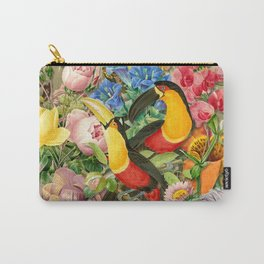 Toucans Carry-All Pouch