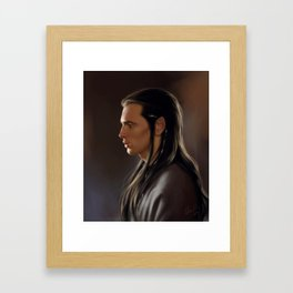 Freyndyal Golden Framed Art Print