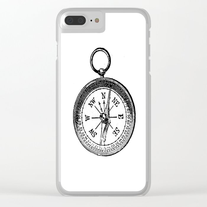 Compass 2 Clear iPhone Case