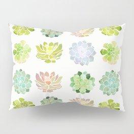 Spring Succulents Pillow Sham