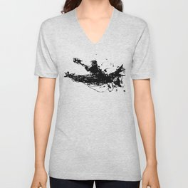Kayakers Kayak Unisex V-Neck