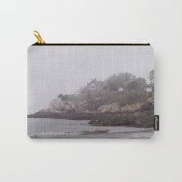 Gray Beach on a gray day Carry-All Pouch