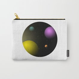 Imaginary Solar System - Spaceship view Carry-All Pouch