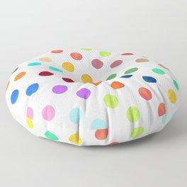 Polka Proton Floor Pillow