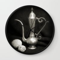arab Wall Clocks featuring Arab Nights by Brian Raggatt