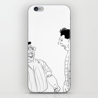 seinfeld iPhone & iPod Skins featuring Seinfeld by visualinterpreter