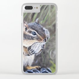Stuffing My Face Clear iPhone Case