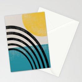 Mid century Sea Stationery Cards