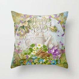Easter Breakfast Throw Pillow