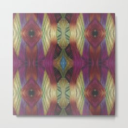 Interwoven Metal Print