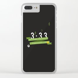 ARS Choi Youngjae Clear iPhone Case