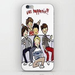 One Direction 'Vas Happenin' Cartoon iPhone Skin