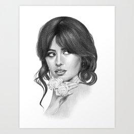 Señorita Camila Art Print