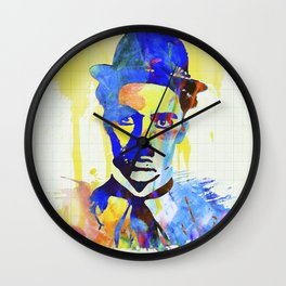 charlie chaplin 04 Wall Clock