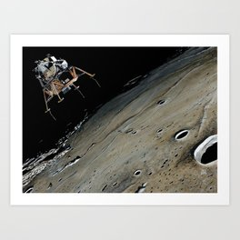Go for landing Art Print