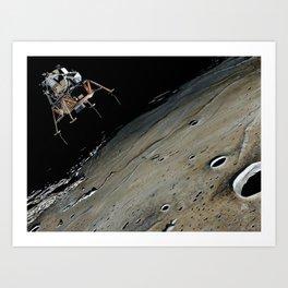 Go for landing Art Print