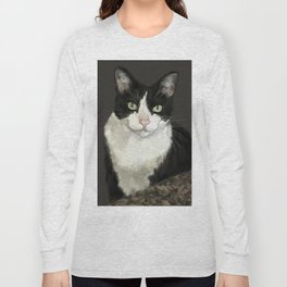 Cat Eightball Long Sleeve T-shirt