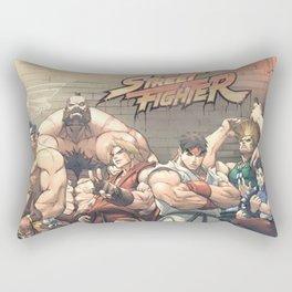 Street Fighter Rectangular Pillow