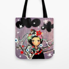 Once upon a time a doll Tote Bag