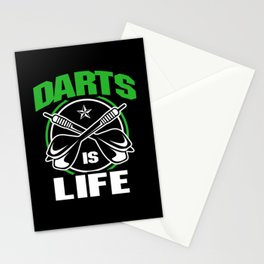 Dart Darts Dartboard Life Dart Player Sports Game Stationery Cards
