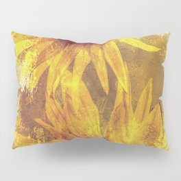 Peeping Sunflowers Pillow Sham