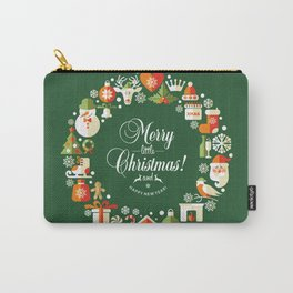 The Circle of Christmas Stuffs Carry-All Pouch