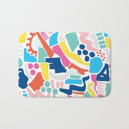 Colour Scatter Bath Mat
