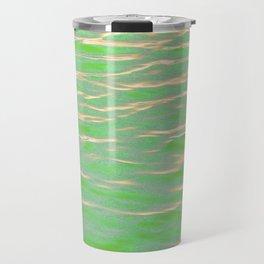 Rippling Green Travel Mug