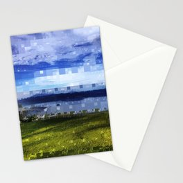 square landscape Stationery Cards