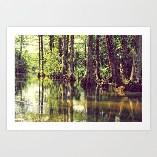 The River of Grass Art Print