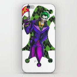 The Joker playing card iPhone Skin