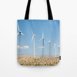 San Gorgonio Pass wind turbine Tote Bag