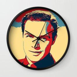 Marlon Brando Poster Art Wall Clock