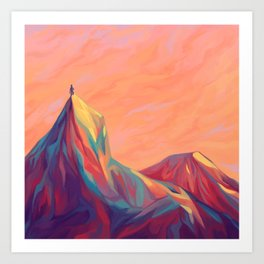 Go Wander Art Print