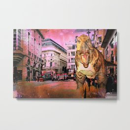London V - The Guest From The Past Metal Print