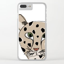 Save the Amur Leopard Clear iPhone Case