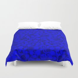 Abstract blue #Indigo #blue #Indigo blue #abstract Duvet Cover