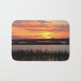 Sky Over The Marsh Bath Mat