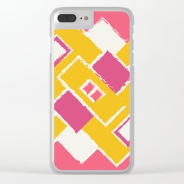Abstract1 Clear iPhone Case