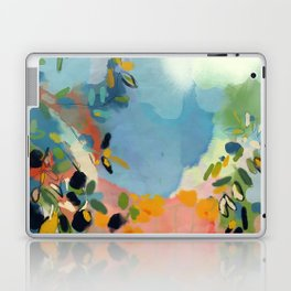 garden with sea view and olive tree Laptop & iPad Skin