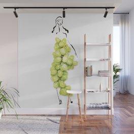 Edible Ensembles: Green Grapes Wall Mural