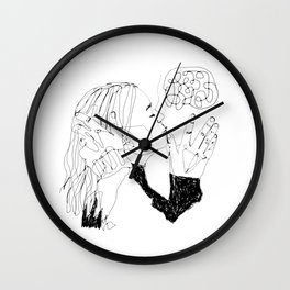 it's not who, it's why Wall Clock