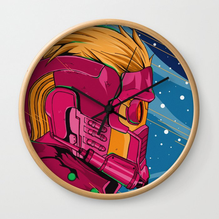 Starlord Guardians of the galaxy Wall Clock